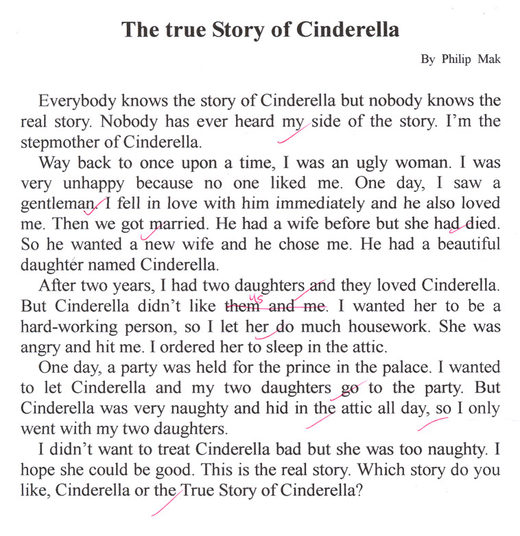 the story of cinderella Enjoy the most popular folk tale of cinderella with baby hazel it is a story of a young girl, named cinderella, who was living in unfortunate.